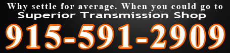 Find a transmission repair shop in El Paso